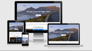 Prime Tours Website Portfolio