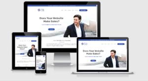 Utility Cloud Consulting Website portfolio